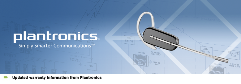 Updated Plantronics Warranty Information