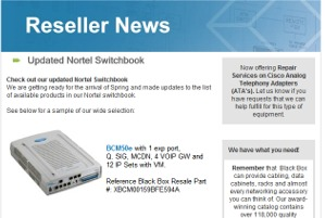 Black Box Resale Services - Switchbook